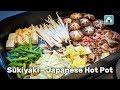 Sukiyaki   Japanese Hot Pot Recipe