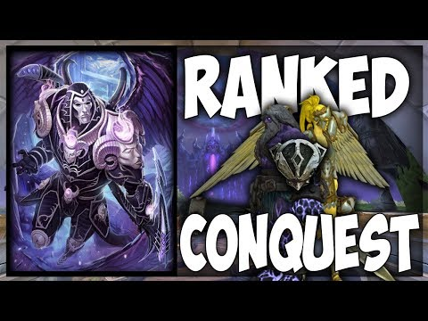 Smite: S5(Qualifying) Ranked Conquest Grind #4 - Thanatos Jung