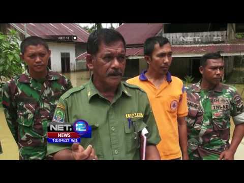 Akibat Sungai Meluap 13 Desa di Aceh Jaya Terendam Banjir - NET12