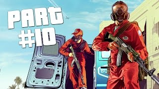 "Grand Theft Auto 5 - First Person Mode Walkthrough Part 10 ""Jewel Store Heist"" (GTA 5 PS4 Gameplay)"
