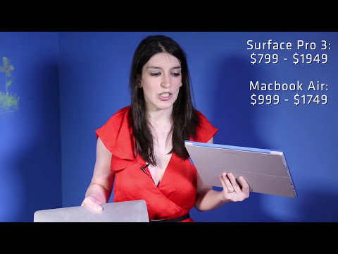 Microsoft Surface 3 vs. MacBook Air Comparison | Mashable