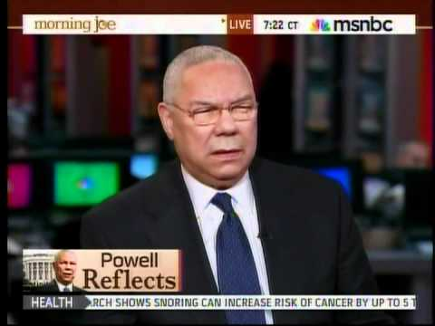 Colin Powell on Romney's NeoCon Advisors.mpg