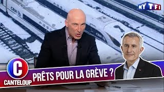 """Imitation de Guillaume Pepy - """"La neige ne perturbera pas le traffic !"""" - C'est Canteloup"""