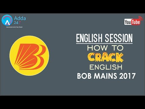 How To Crack English In BOB PO Exam | Strategy & Tricks  | Online Coaching for SBI IBPS Bank PO
