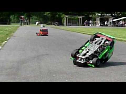 RC 1:5 FG Racetruck Renntruck Crash Unfall !!!