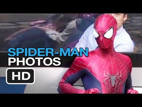 The Amazing Spider-Man 2- On-Set Photos: The Rhino (2014)  - Andrew Garfield Movie HD