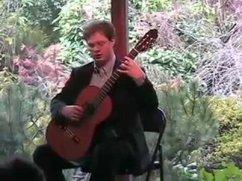 Bach Partita #1 BWV 825: I. Präludium Daniel Corr, guitar