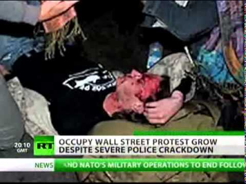 'Occupy Wall Street' - Police crackdown gives more momentum to the movement.. #globalrevolution