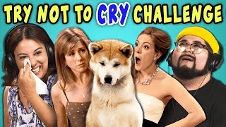 Download Lagu ADULTS REACT TO TRY NOT TO CRY CHALLENGE Gratis STAFABAND