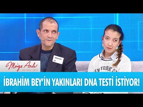 İbrahim Bey'in yakınları DNA testi istedi - Müge Anlı İle Tatlı Sert 27 Kasım 2017