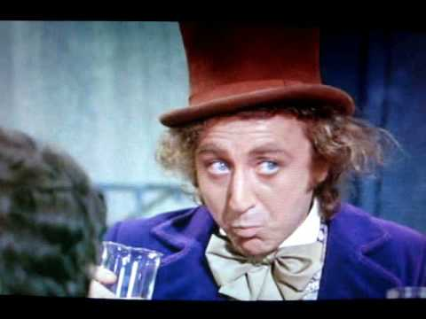 Willy Wonka Invention Room Scene