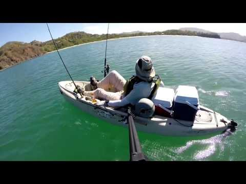 Hobie Kayak Fishing Playa Potrero Enero 2014 HD