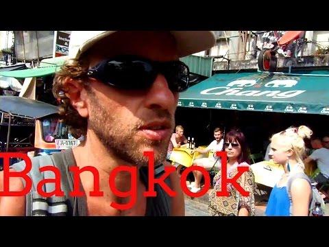 Khao San Road, Bangkok—Budget traveler's paradise!