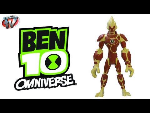 Ben 10 Omniverse Heatblast Action Figure Toy Review. Bandai