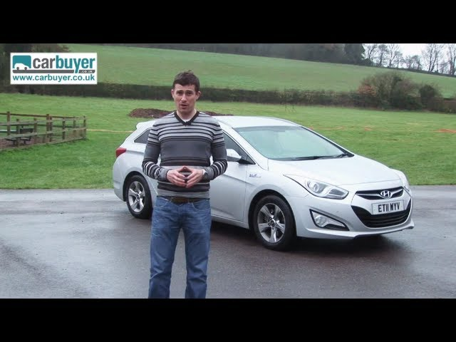 Hyundai i40 Tourer estate review - CarBuyer - YouTube