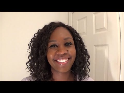 Model Deep Wave Hair Review - Quick Weave with Invisible Part