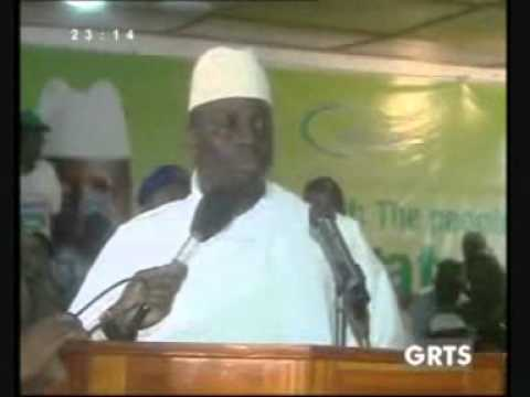 YAHYA JAMMEH INDOCTRINATING DEATH AND KILLING ON GAMBIANS YOUTHS