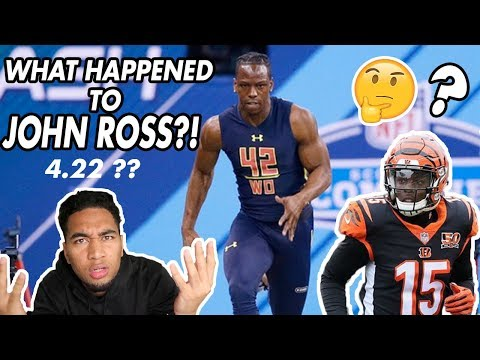 What Happened to John Ross?! The Fastest NFL Player Ever