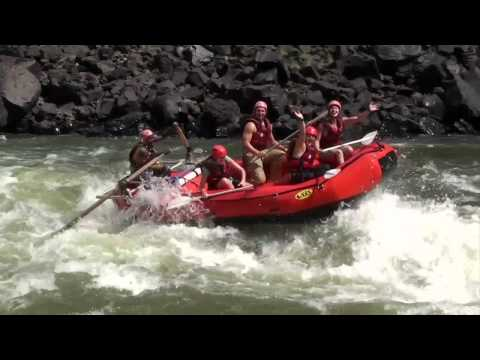 White Water Rafting on the Zambezi, Africa, New Year 2011