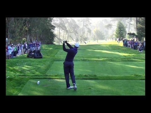 Tiger Woods 2012 US Open Olympic Club Full Edit Swingvision Slow Motion 60fps mp4