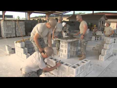 Army Careers 12W - Carpentry and Masonry Specialist
