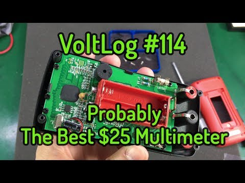 Voltlog #114 - Aneng AN8008 Probably The Best $25 Multimeter
