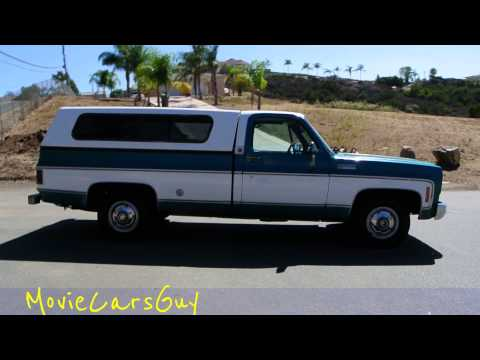 Movie Cars TV Film Classic Vintage Pickup Truck Televsion Movies Car For Sale Video Review