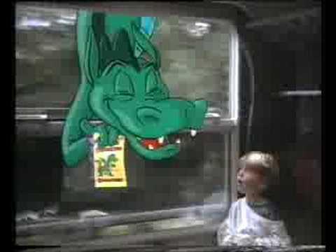 Vicks Drakeeltjes reclame uit de jaren 90 (Nederlands)