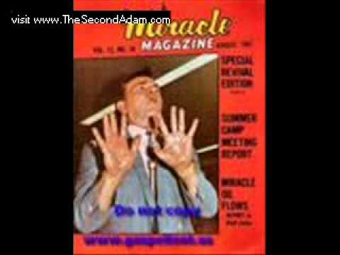 Rw Schambach Greatest Miracle I Ever Saw (1 Of 2) Prophetic Ministry video