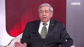 General Heleno fala sobre a intervenção federal no Rio (17/FEV/2018)