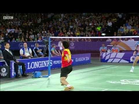 MS Gold - Derek WONG Z.L. vs P. Kashyap - 2014 Commonwealth Games badminton