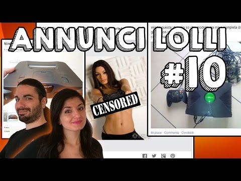 Annunci Lolli #10 - Porno Console E Nintendo Psp! video
