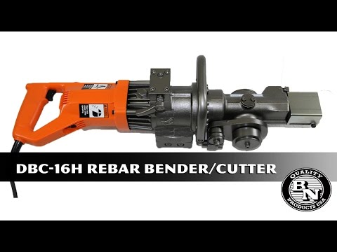 DBC-16H Rebar CutterBender product overview by BNProducts.com