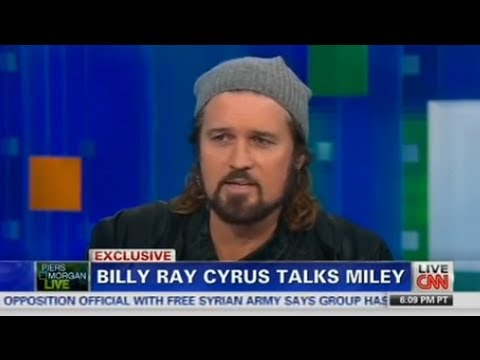 Piers Morgan to Billy Ray Cyrus: As a Father, Did the Twerking Bother You?