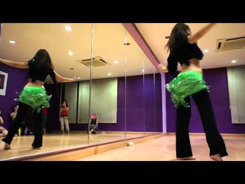stsds: Shakira - Hips Don't Lie Belly Dance Choreography By Catherine Pang video