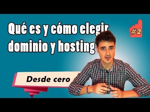¿Qué es un dominio y un hosting? Consejos para elegirlos
