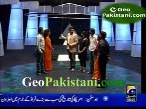 Game Show with Shoaib Younus with Actreses Pt 2