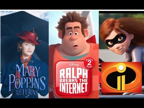 Upcoming Disney Movies 2018 - Sequels/Reboots/Originals - Trailers