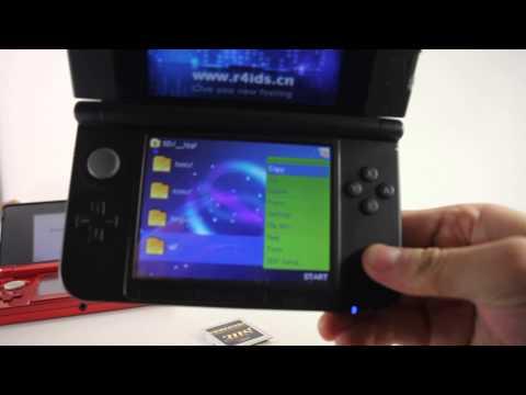 [VRTvingt] Unboxing R4i GOLD 3DS et Test