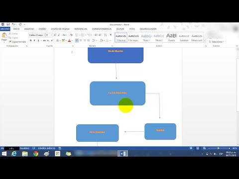 Como hacer Mapas Mentales o Conceptuales en Word 2013 ( Windows 8)