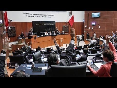 Congreso de la Unión avala Ley de Ingresos 2014 / Excélsior Informa con Andrea Newman