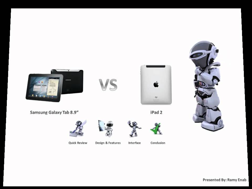 Samsung Galaxy Tab 8 9 vs Ipad 2 Ipad 2 vs Samsung Galaxy Tab