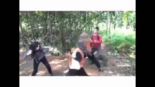 Aksi Laga Samuel Zylgwyn  Ochi Rosdiana Tanpa Stuntman