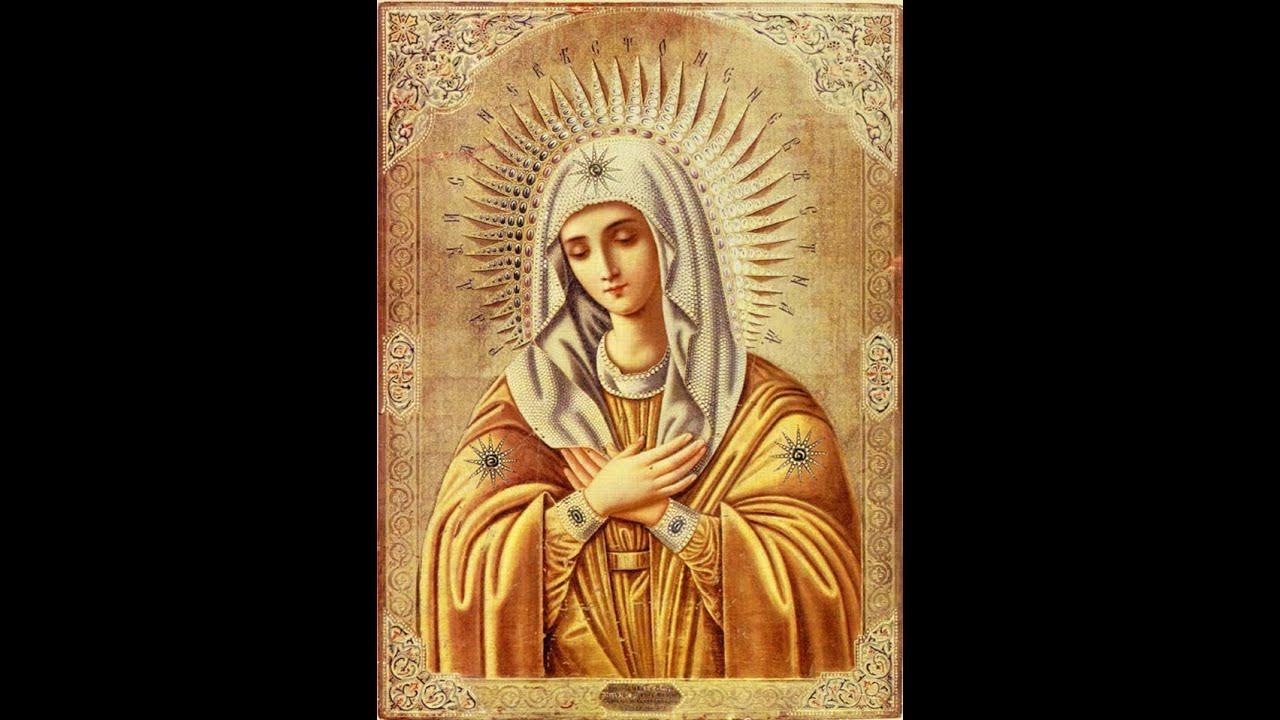 Молебный канон к ангелу хранителю и пресвятой