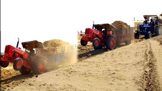 Mahindra 575 or 585 Fram 60 or Mahindra 575 tractor lodid trolley m kse performance dete h dekhe
