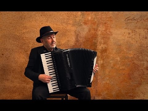 Carlos Gardel - Volver - Argentine Tango argentino Accordion - Jo Brunenberg  Acordeon instrumental