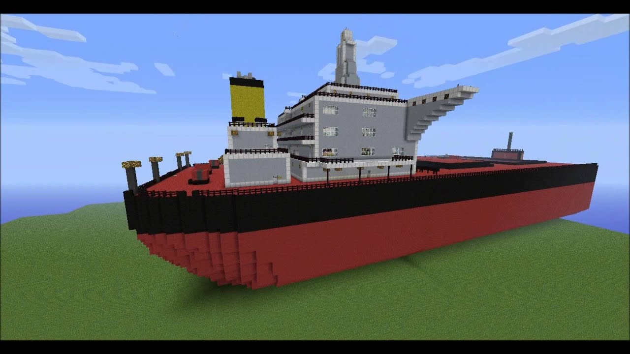 Minecraft Cargo Ship 11 Bulk Carrier Part 1 YouTube