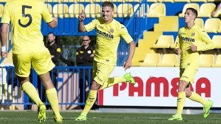 Resumen Villarreal CF B 2-0 CD Ebro