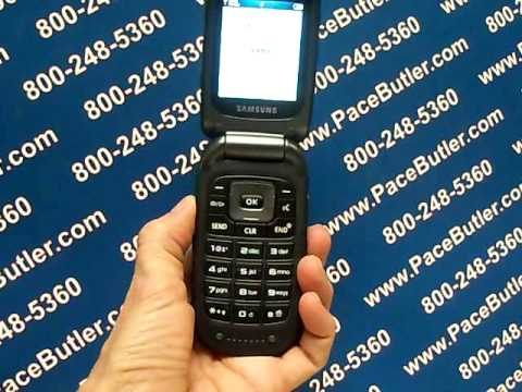 Samsung Convoy SGHU640 - Erase Cell Phone Info - Delete Data - Master Clear Hard Reset
