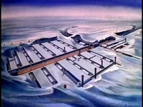 The U.s. Army's Top Secret Arctic City Under The Ice! camp Century Restored Classified Film video